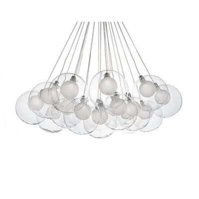 Tarna 13-Light Chrome 60-Watt Equivalince Integrated LED Chandelier
