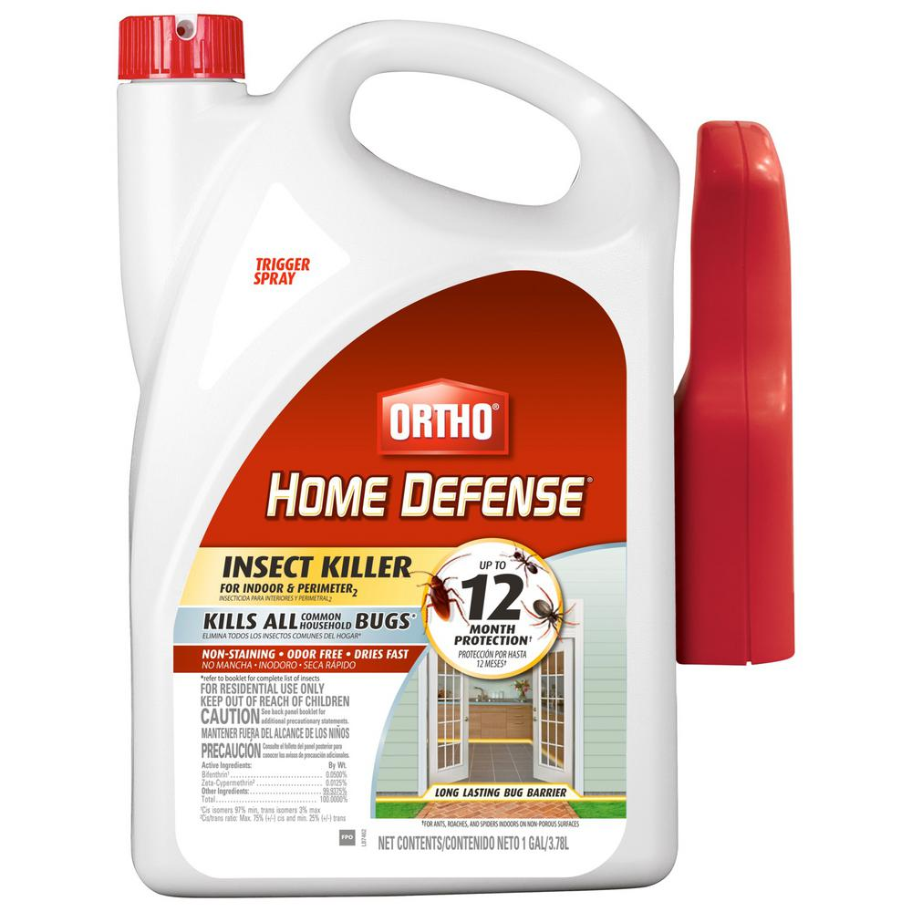 Ortho Home Defense Max 1 Gal  Ready-to-Use Perimeter and Indoor Insect  Killer