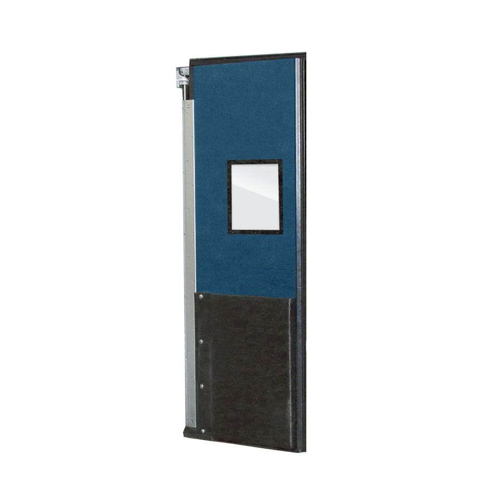 Aleco ImpacDor FD-175 1-3/4 in. x 48 in. x 84 in. Royal Blue Impact Door