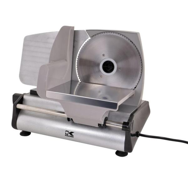 KALORIK Professional Style 180 W Silver Electric Food Slicer AS 40763