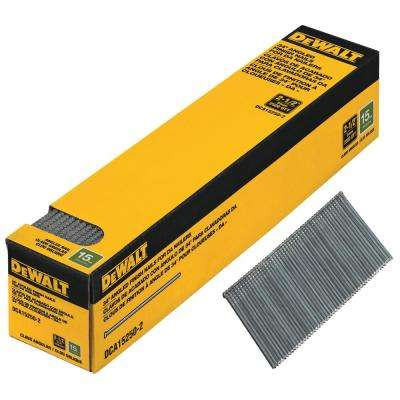 2-1/2 in. x 15-Gauge Angled Finish Nails (2500-Pieces)