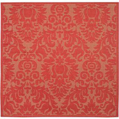 Red - Medallion - Outdoor Rugs - Rugs - The Home Depot