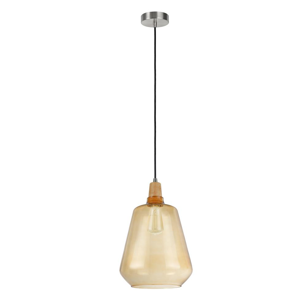 Tech Lighting Aspen 36: Aspen Creative Corporation 1-Light Satin Nickel Mini