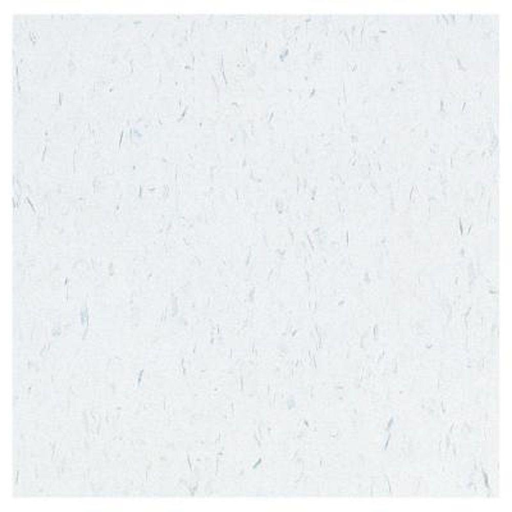 Armstrong Take Home Sample - Imperial Texture VCT Blue Cloud Standard Excelon Vinyl Tile - 6 in. x 6 in.
