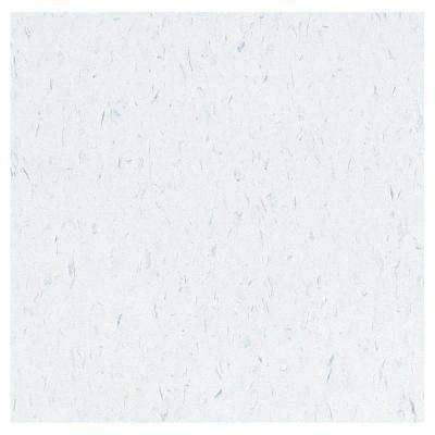 Take Home Sample - Imperial Texture VCT Blue Cloud Standard Excelon Vinyl Tile - 6 in. x 6 in.
