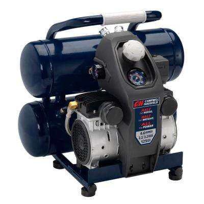 4.6 Gal. Twinstack Electric Quiet Compressor