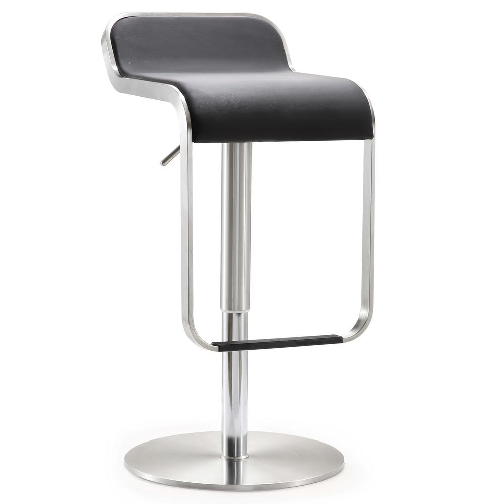 Tov Furniture 31 1 In Napoli Black Steel Adjustable