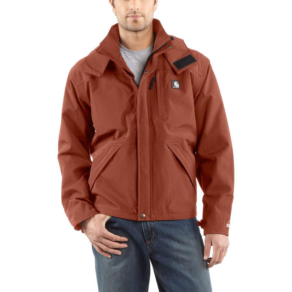 c338fa330 Carhartt Men'S Large Tall Sequoia Nylon Shoreline Jacket WPB Nylon ...