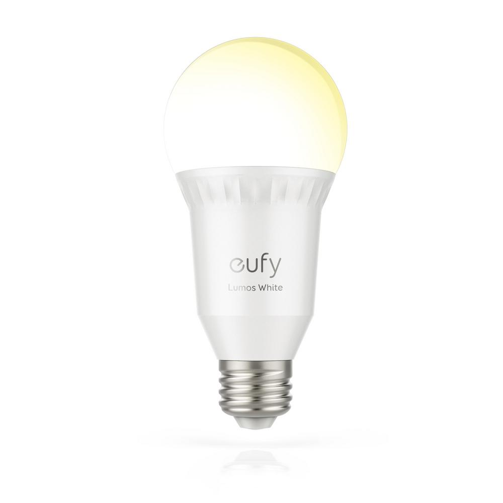60-Watt Equivalent E26 Dimmable LED Smart Light Bulb White