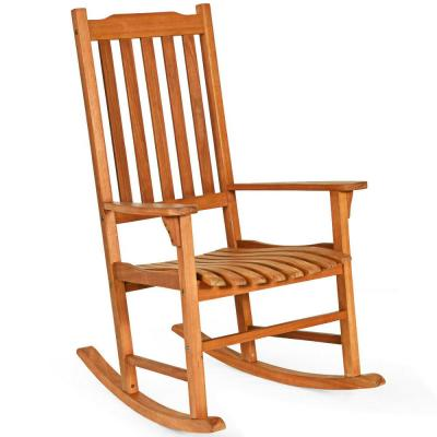 Wood Frame Rocking Chairs Patio Chairs The Home Depot