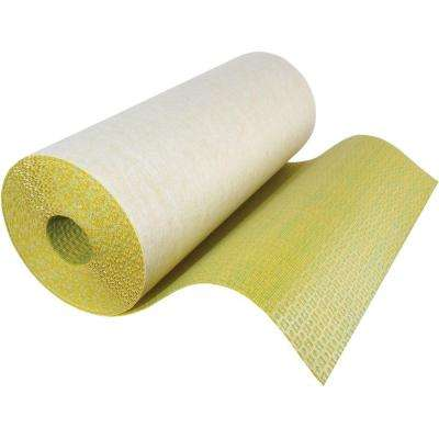 54 sq. ft. 3.27 ft. x 16.46 ft. x 0.156 in. Crack Suppression and Isolation Underlayment Roll