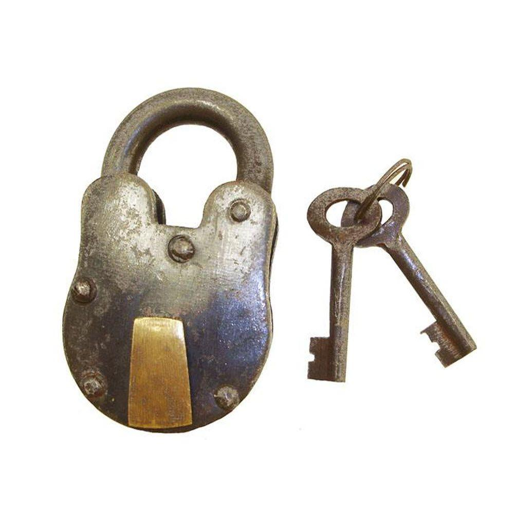 Home Decorators Collection Decorative Metal Bolt Lock and Key