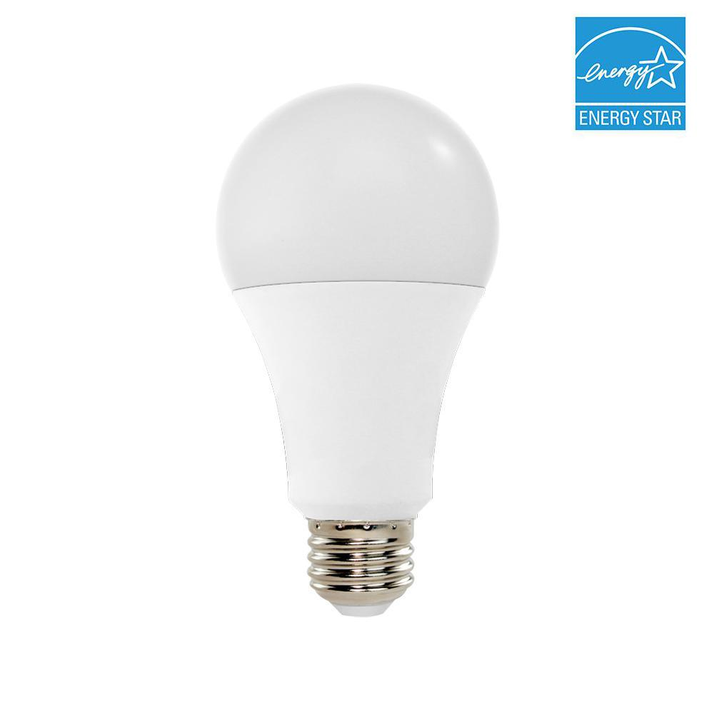 100W Equivalent 2700K A21 Dimmable LED Light Bulb, Warm White