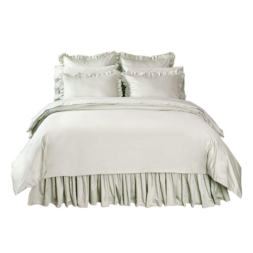 Home Decorators Collection Solid Windrush Full/Queen Duvet