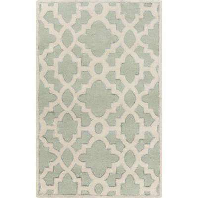 Dannevirke Sea Foam 8 ft. x 11 ft. Indoor Area Rug