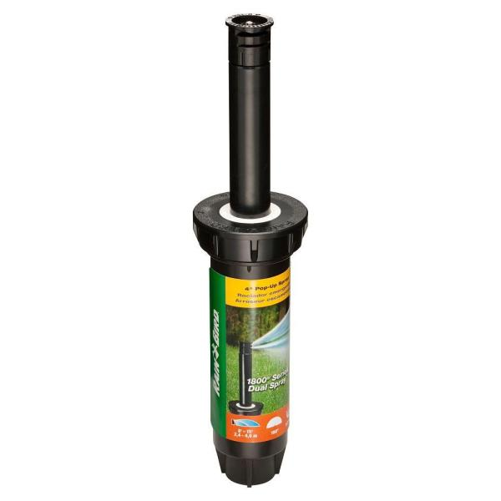 1804 Dual Spray Half Pattern 4 in Pop-Up Spray Head