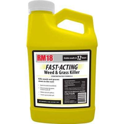 64 oz. Fast-Acting Weed and Grass Killer Concentrate