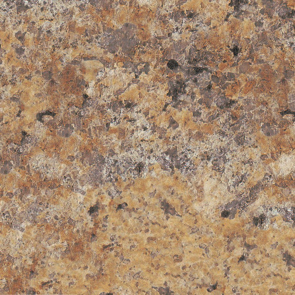 5 in. x 7 in. Laminate Countertop Sample in Butterum Granite