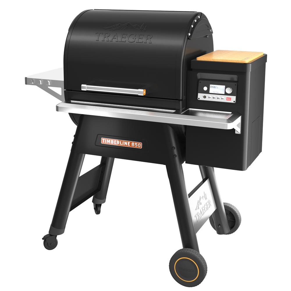 Traeger Timberline 850 Pellet Grill in Black