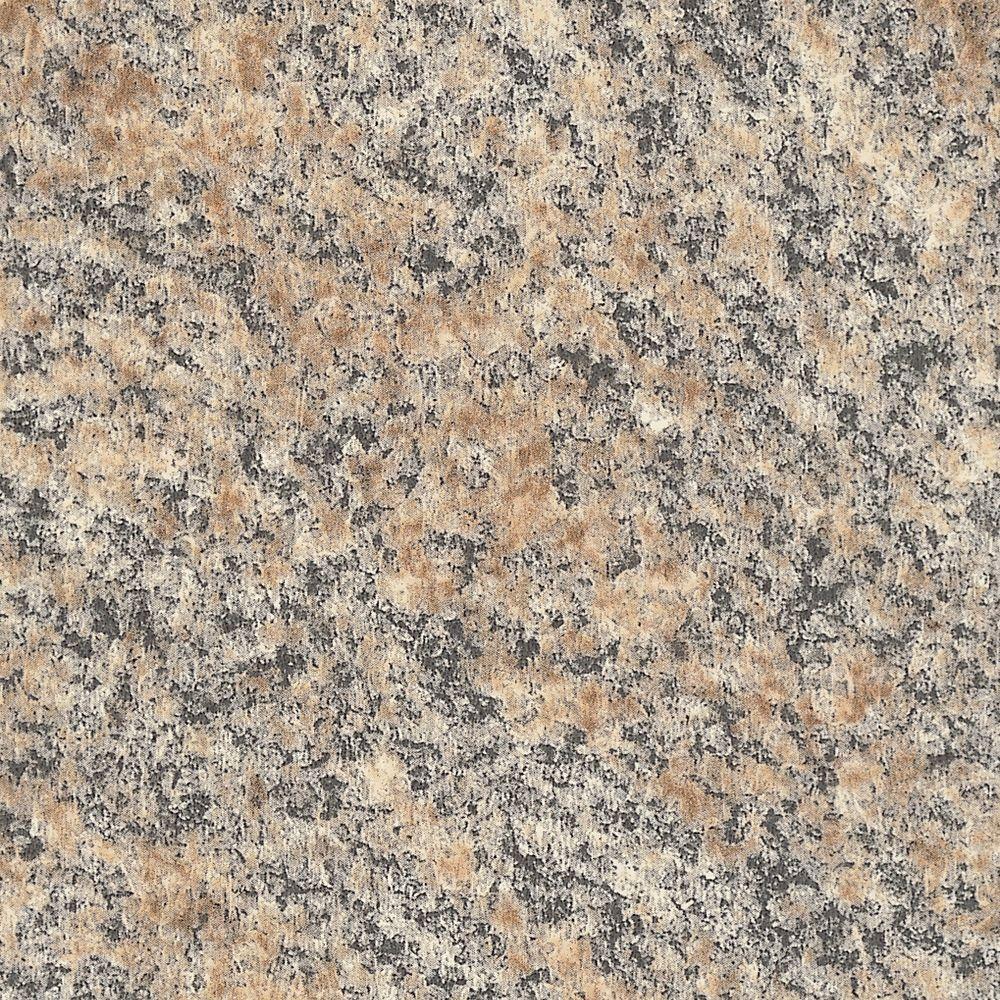 5 in. x 7 in. Laminate Countertop Sample in Brazilian Brown Granite with Premiumfx Radiance Finish