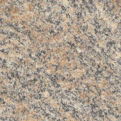 4 ft. x 8 ft. Laminate Sheet in Brazilian Brown Granite with Premiumfx Radiance Finish