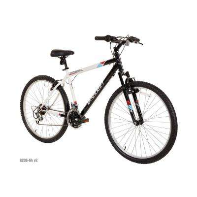 26 in. Alpine Eagle Mountain Bike in Black and White