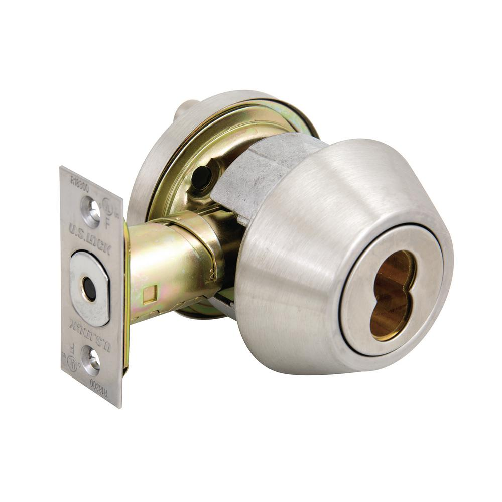 what is a single cylinder deadbolt
