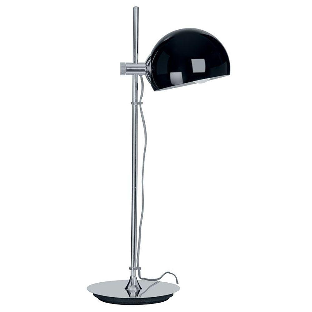 Eglo Bo 60-Watt 27 in. Chrome Table Lamp