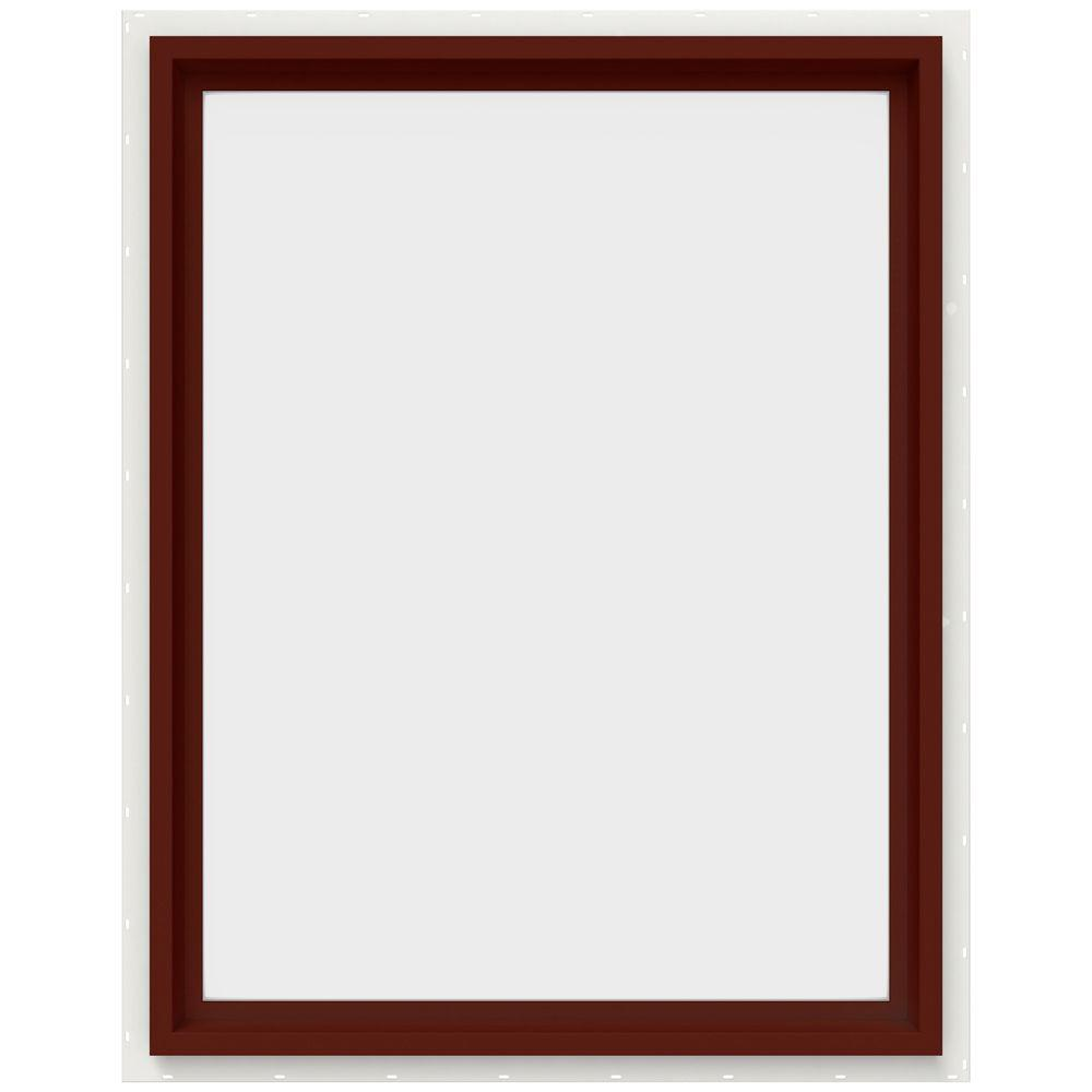 29.5 in. x 35.5 in. V-4500 Series Fixed Picture Vinyl Window