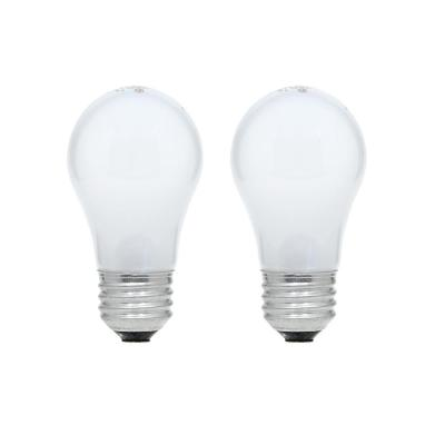15-Watt A15 Incandescent Light Bulb (2-Pack)