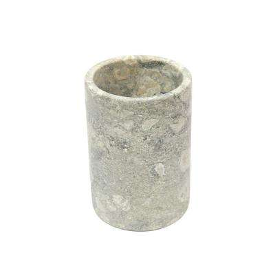 4.5 in. Diameter x 6 in. H Wine Cooler in Fossil Marble