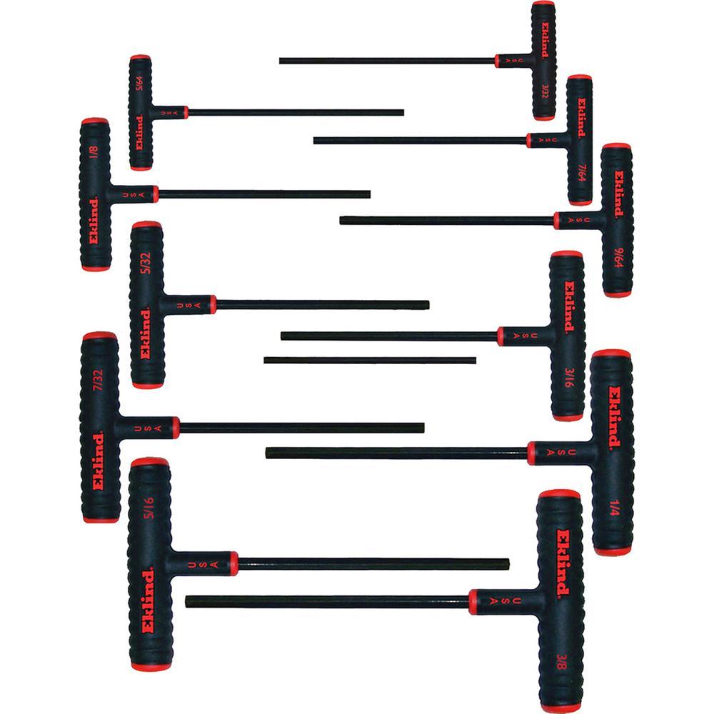 Eklind 15860 T60 Short Series Torx L-Key, Pack of 5