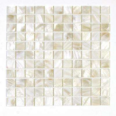 Seychelles Maikai 12 in. x 12 in. x 1.6 mm Shell Mosaic Wall Tile (10 sq. ft. / case)