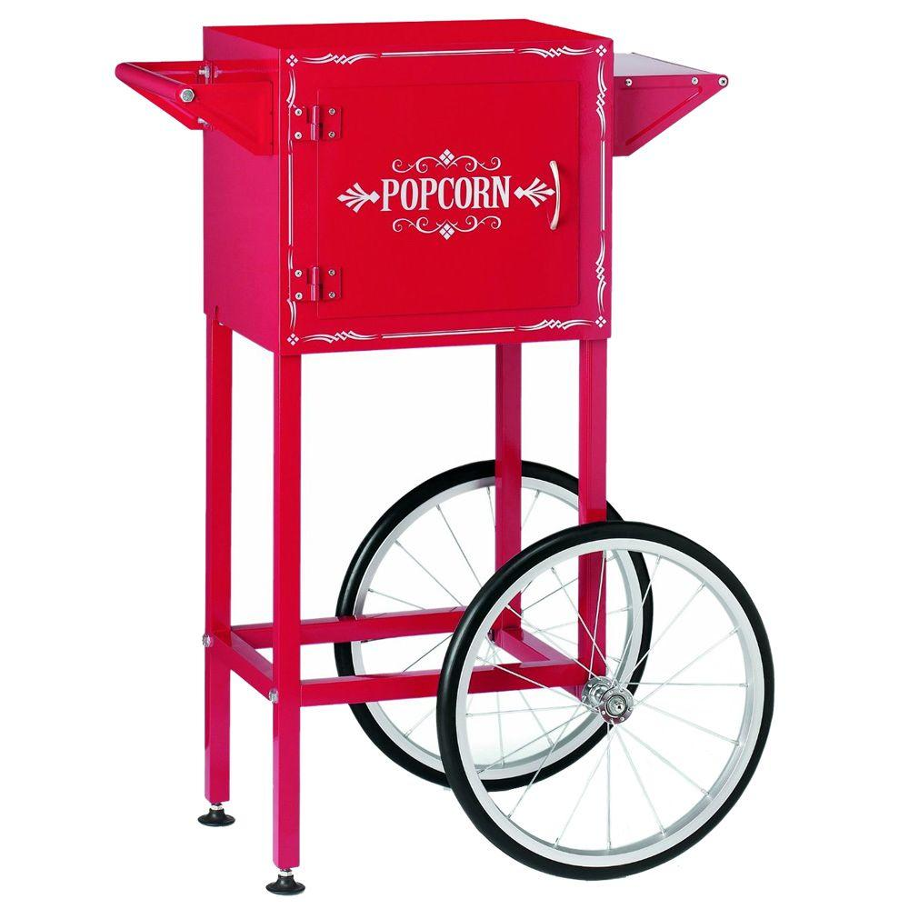 Waring Pro Trolley Cart Classic Kettle Popcorn Cart