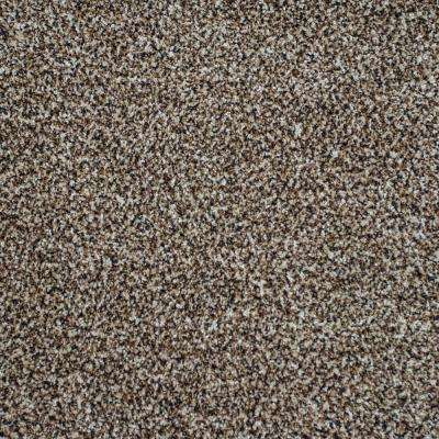 Serendipity I - Color Drizzled Cocoa Texture 12 ft. Carpet