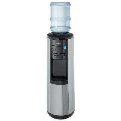 Hot, Room and Cold Water Dispenser in Stainless Steel