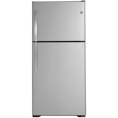19.2 cu. ft. Top Freezer Refrigerator in Stainless Steel, ENERGY STAR