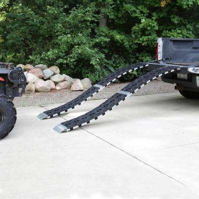 12 in. W x 90 in. L Hybrid S-Curve Centerfold Loading Ramp 750 lb. (Includes 1 Ramp)