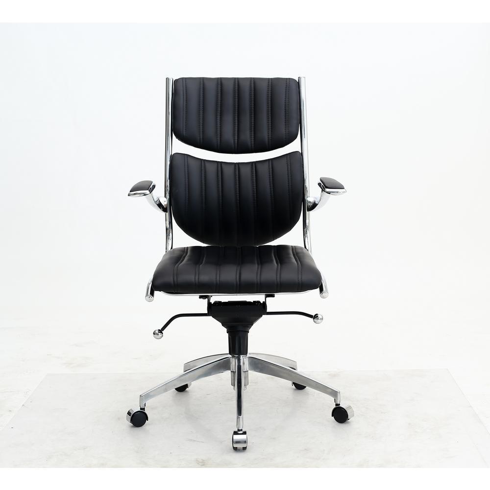 Ergonomic High Back Verdi Black Office Chair