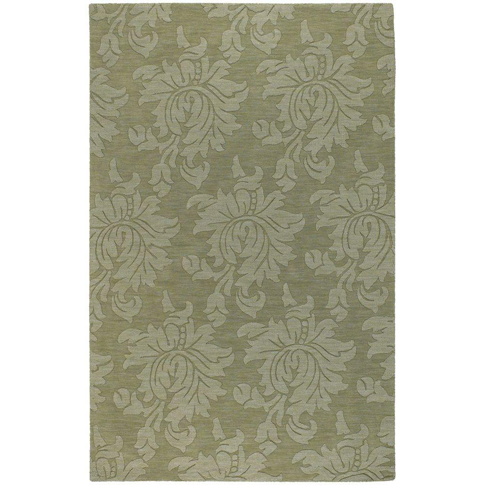 Beth Jalepeno Green 5 ft. x 8 ft. Area Rug