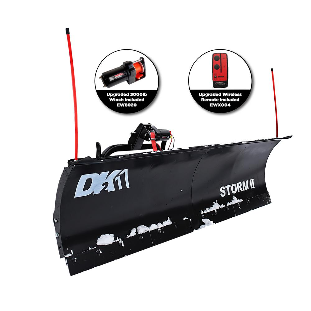 detail k2 storm ii 84 in x 22 in snow plow for trucks and suvs