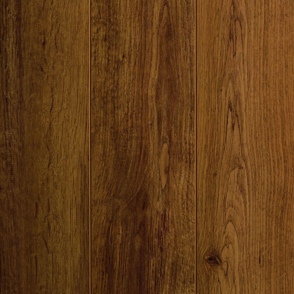 home decorators collection autumn hickory laminate flooring home decorators collection oak 12 mm thick x 4 3 4 in 13625