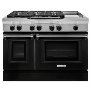 Dual Fuel Range Double Oven With Convection Oven
