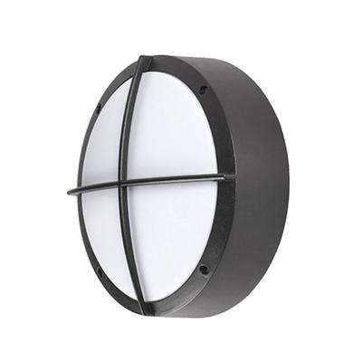 Oswego Black Outdoor Integrated LED Wall Mount Sconce