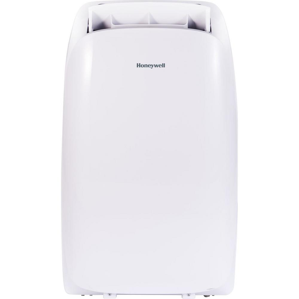 Honeywell HL Series 14,000 BTU, 115-Volt Portable Air Conditioner with Heater, Dehumidifier and Remote Control in White Honeywell HL Series 14,000 BTU, 115-Volt Portable Air Conditioner with Heater, Dehumidifier and Remote Control in White