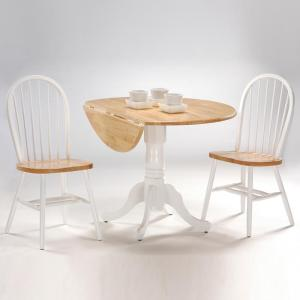 Super White And Natural Wood Spindle Back Windsor Dining Chair Pdpeps Interior Chair Design Pdpepsorg