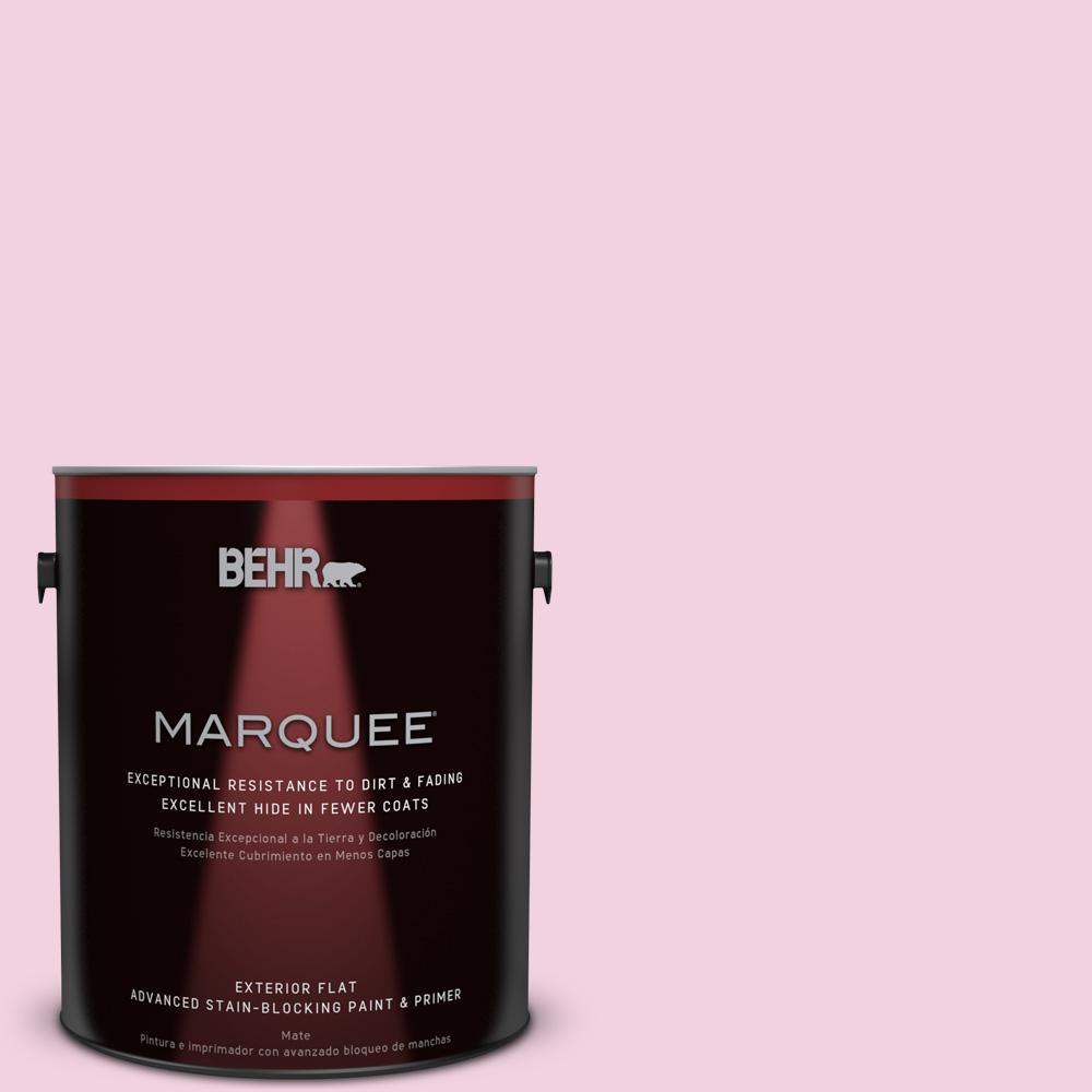 BEHR MARQUEE 1-gal. #100A-3 Scented Valentine Flat Exterior Paint