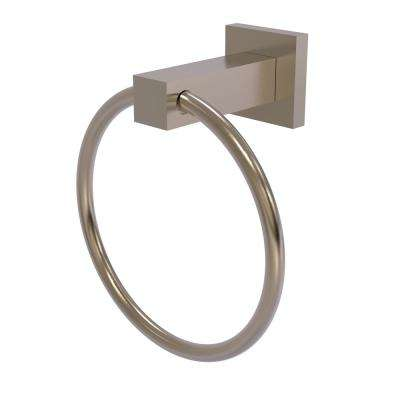 Montero Collection Towel Ring in Antique Pewter