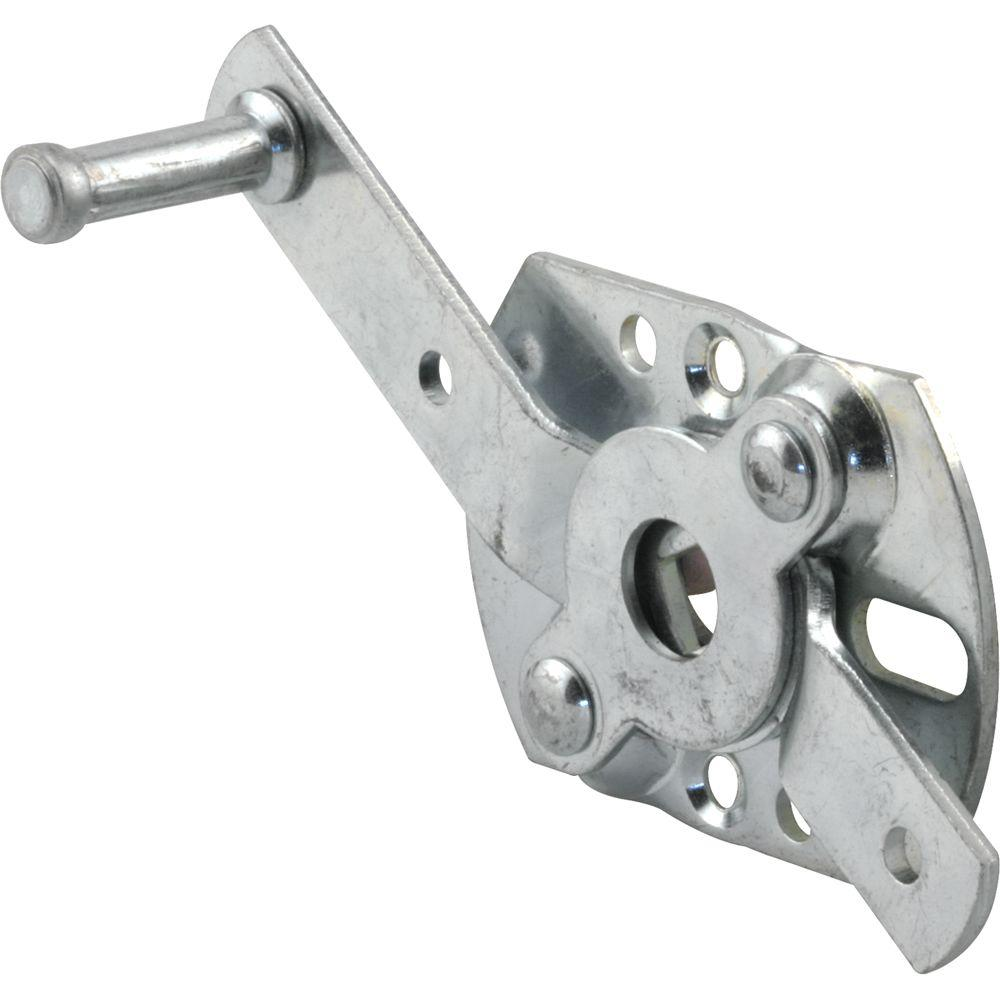 Prime-Line Center Mount Heavy Duty Steel Swivel Latch with Fastners