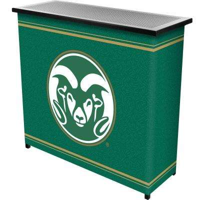 Colorado State 2-Shelf Black Bar with Case